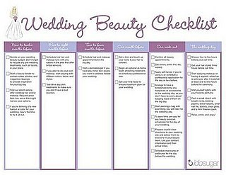Wedding beauty planner